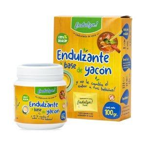 Endulza Yacon - producto pote caja